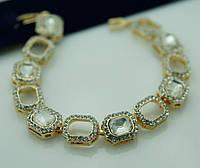 Женские красивые браслеты из белых камней 1088