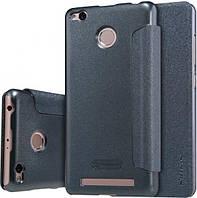 Чехол-книжка NILLKIN для Xiaomi Redmi 3s/3 Pro - Spark series Black