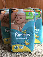 Подгузники Pampers Active Baby Dry - 2 Mini 68 шт. (3 - 6 кг.) New baby