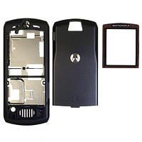 Корпус Motorola L7 чёрный, High Copy, Полный комплект+Клавиатура