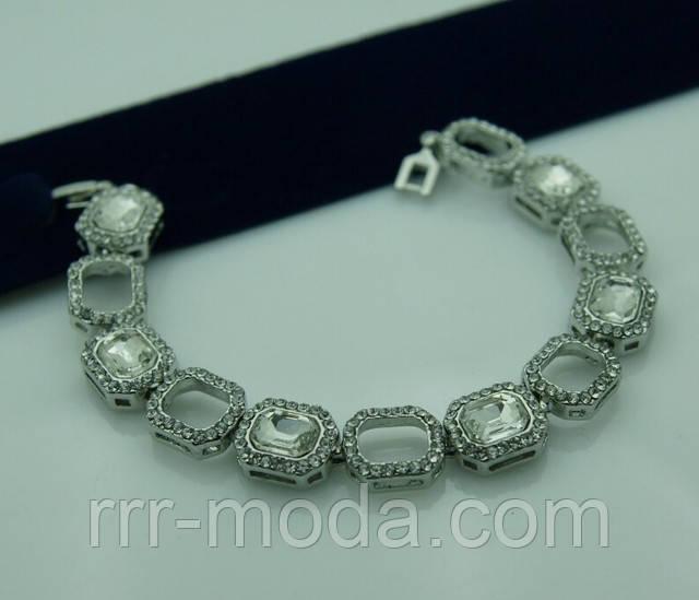 Ювелирная бижутерия RRR женские браслеты с камнями.