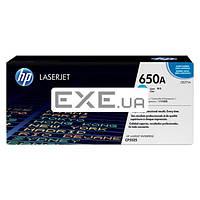 Картридж HP CLJ 650A cyan / CP5525 (CE271A)