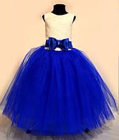 Нарядное выпускное бальное платье для девочки