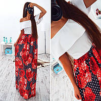 Платье макси в пол  BER-002.003.048