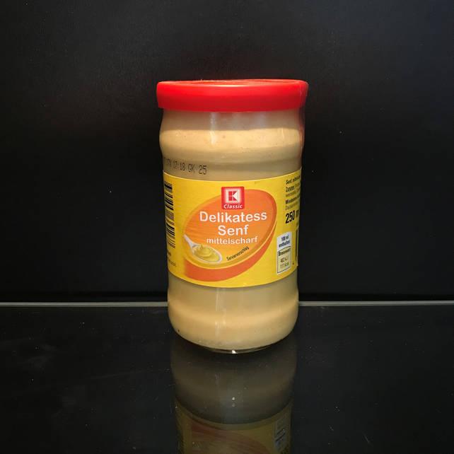 Немецкая горчица Classic Delikatess Senf 250г
