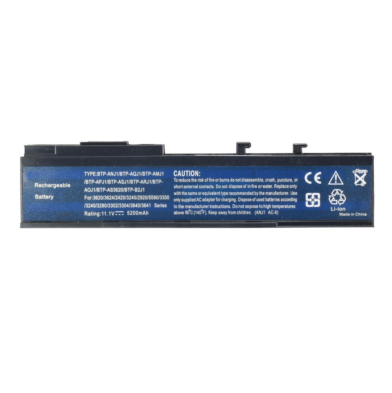 Батарея для ноутбука Acer Aspire 3624 5540 5560 Extensa 4130 - 4630ZG TravelMate 2423 .6452