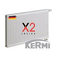 Радиатор стальной Kermi 22 тип  500x1000 боковое подключение, фото 1