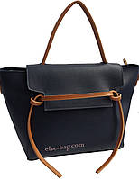 Женская сумка из эко кожи с полоской