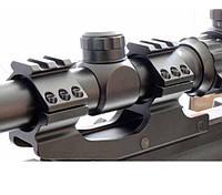 Крепление для оптического прицела Кр-LD25403-d=25.4 mm-Weaver, 185 г