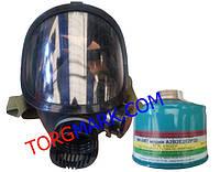 Панорамная маска ППМ-88 с комбинированным фильтром ФК-5МТ марки A2B2E2K2P3D