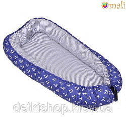 Гнездо для новорожденных ТМ «Omali» морячок