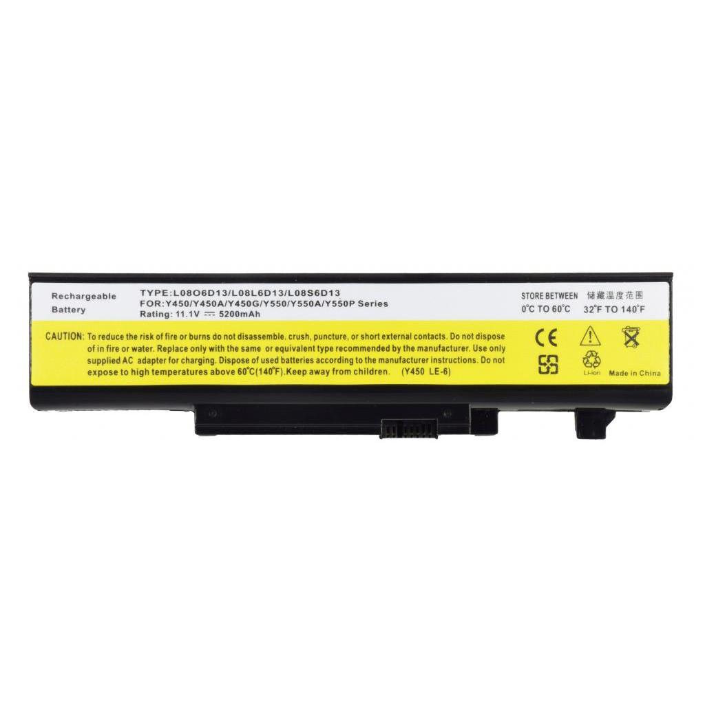 Батарея для ноутбука LENOVO IdeaPad Y450 Y550 A G P