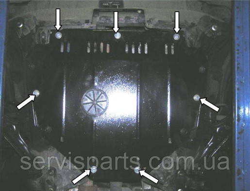 Защита двигателя Honda CR-V III 2007-2013