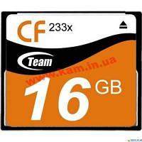 Карта памяти Team 233X 16GB Compact Flash (TCF16G23301)