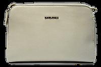Женская сумочка DAVID DJONES из экокожи серого цвета QXS-011241, фото 1