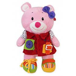 Плюшевая игрушка Baby Mix TE-9823-25B Мишка