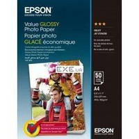 Бумага Epson A4 Value Glossy Photo Paper 50л. (C13S400036)