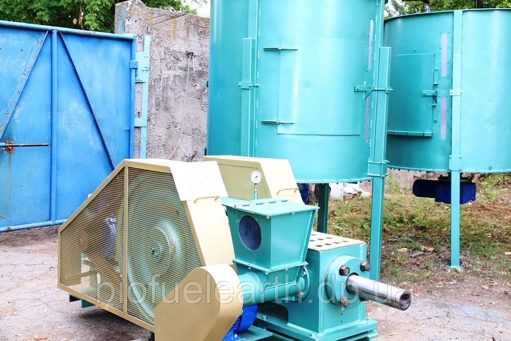 Восстановленный пресс для производства брикетов Nestro, Wekt BT60or