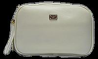 Женская прямоугольная сумочка бежевого цвета VVK-055000, фото 1