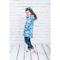 Водонепроницаемая демисезонная куртка для девочки от 3 до 7 лет ( р. 98-122) ТМ Be easy 2 цвета