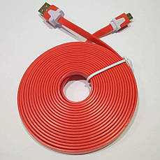 Micro USB кабель Floveme 3 метра красный, фото 2