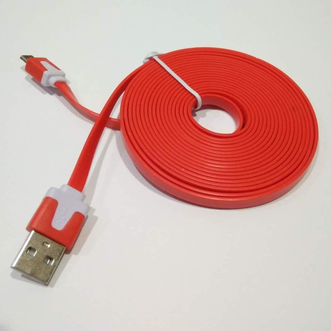 Micro USB кабель Floveme 3 метра красный
