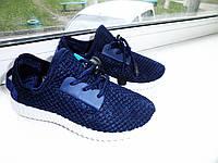 Детские кроссовки темно синие,унисекс,очень легкие