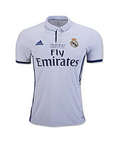Игровая футболка Реал Мадрид (Real Madrid) Final Milano 2016 (реплика VIP качества)