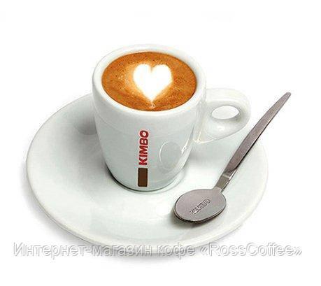 Чашка для кофе Kimbo espresso 60 мл + блюдце, фото 2