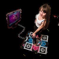 USB танцевальный коврик для ПК  и телевизора  DANCE MAT PC+TV