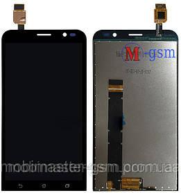 LCD модуль Asus ZenFone Go (ZB551KL) черный
