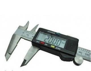 Электронный штангенциркуль с LCD микрометр  Digital Caliper