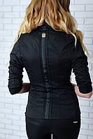 Жакет женский с лентой, модель 016, черный