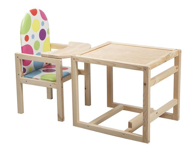 детский деревянный стульчик для кормления купить недорого с