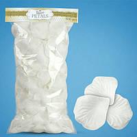 Лепестки роз (белые) 800шт