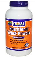 Now Foods, Пищевые дрожжи в порошке, 10 унций (284 г)
