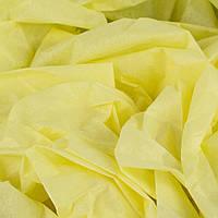 Папиросная бумага тишью желтая 50 х 70 см