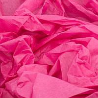 Папиросная бумага тишью малиновая 50 х 70 см, фото 1