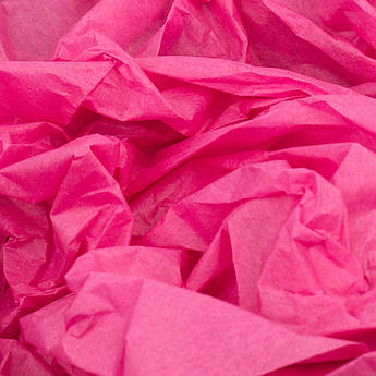 Папиросная бумага тишью малиновая 50 х 70 см