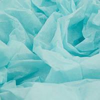 Папиросная бумага тишью голубая 50 х 70 см