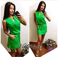 Женское льняное платье (2)