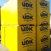 Газобетон UDK 150*200*600 (56шт. на м.куб.) цена за 1 шт