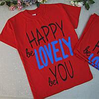 Футболка для девочки-ПОДРОСТКА, 10-14 лет, Турция.  Детские футболки, футболки для мальчиков летние
