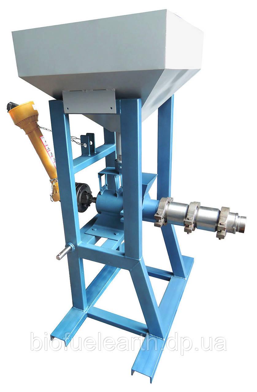 Экструдер зерновой от вала отбора мощности (ВОМ) ЭКЗ-220. Изготовление экструдера