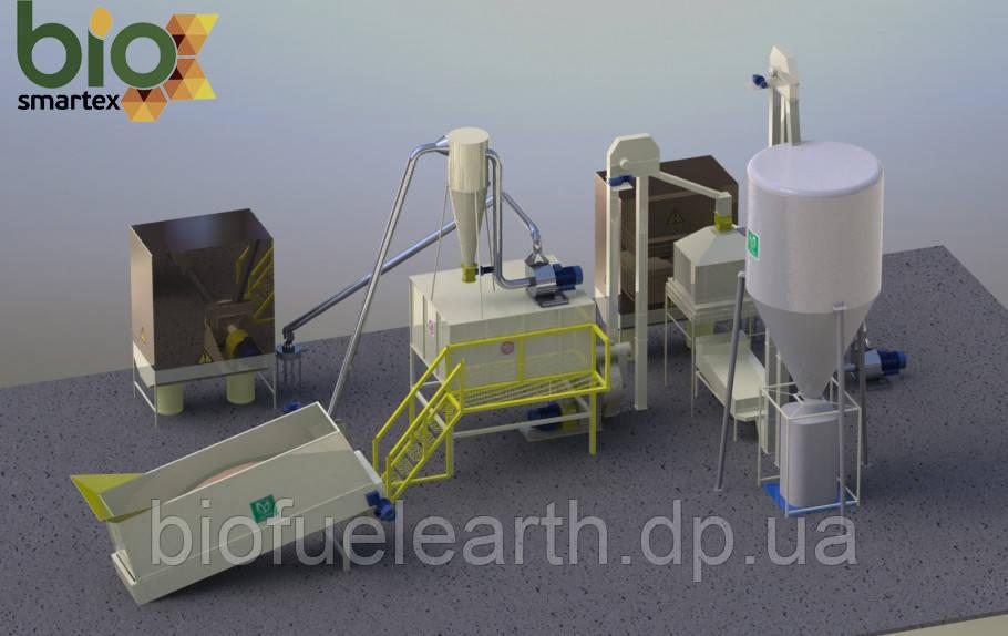 Участок гранулирования 1100-1500 кг/ч