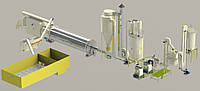 Линия по производству гранул и брикета (Украина,США)
