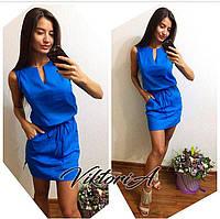Легкое льняное платье (5)