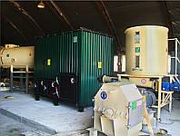 Сжигатель биомассы в Украине