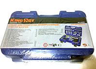 """Набор инструментов King Roy 085MDA (85ед.) 1/2-1/4"""" (10-32/5.5-14мм +E+4удл+2трещ24Т +2кард+биты+ключи)"""