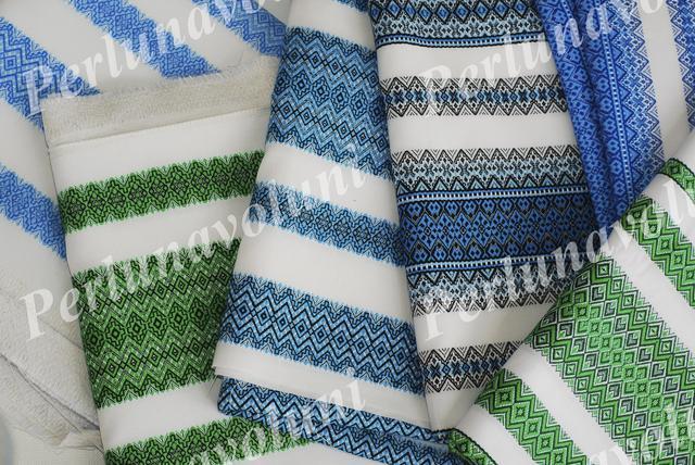 Ткани с вышивкой - на скатерти, вставки для одежды и другое